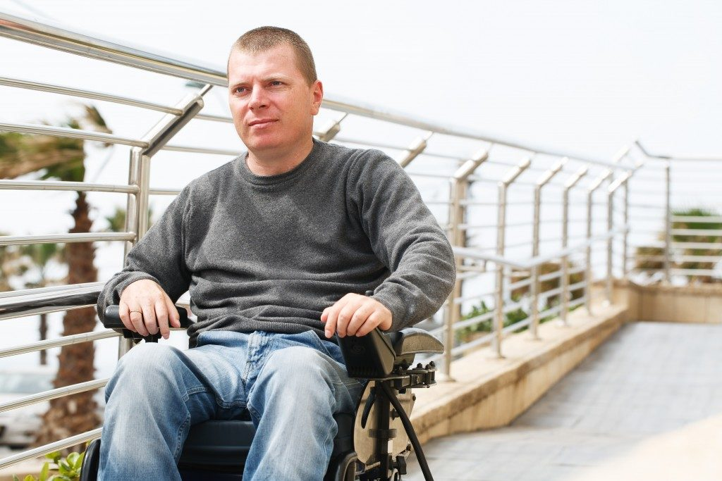 guy with disability