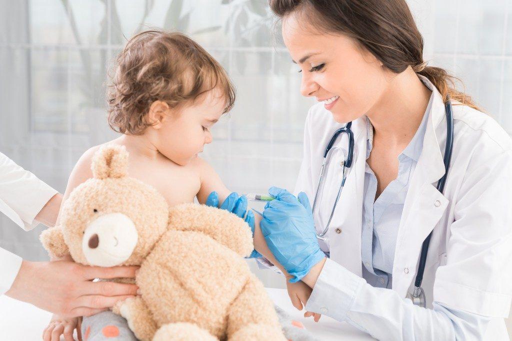 baby and nurse