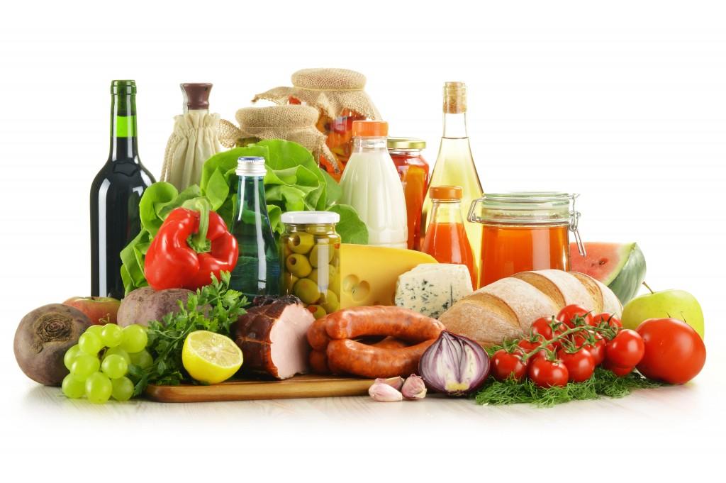 variety of ingredients